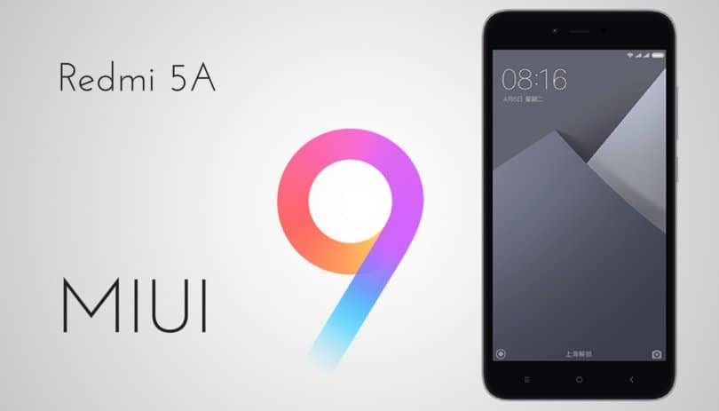 MIUI 9.1.6.0 Global Stable ROM on Redmi 5A