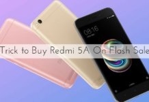 Trick to Buy Redmi 5A On Flash Sale