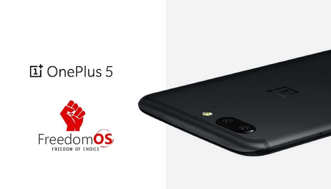 FreedomOS on OnePlus 5