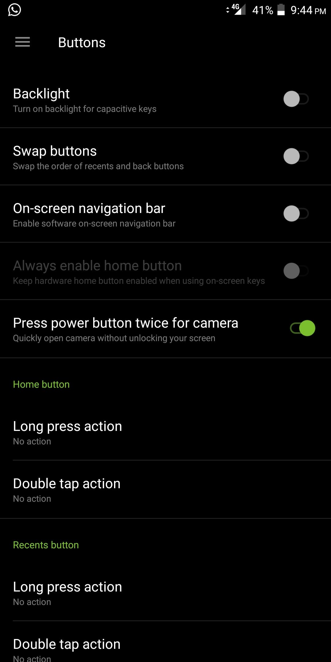 Remove Navbar from OnePlus 5T