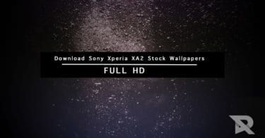 Download Sony Xperia XA2 Stock Wallpapers In Full HD