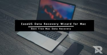 recover data using EaseUS data recovery software on Macs