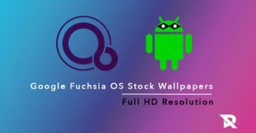 Google Fuchsia OS Stock Wallpapers