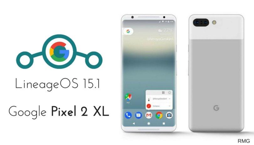 LineageOS 15.1 on Google Pixel 2 XL
