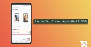 LG V30/V30 + App Scaling