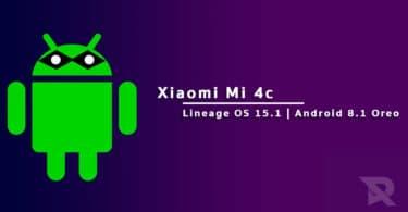 Lineage OS 15.1 On Xiaomi Mi 4c