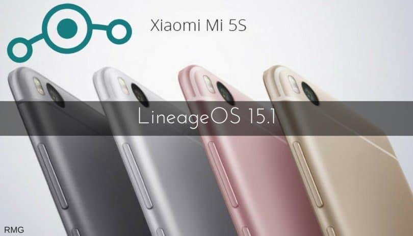 LineageOS 15.1 on Mi 5s