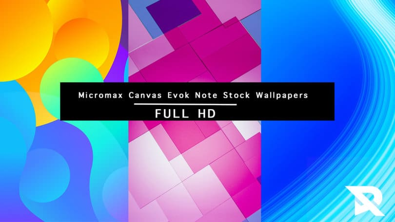 Micromax Canvas Evok Note Stock Wallpapers