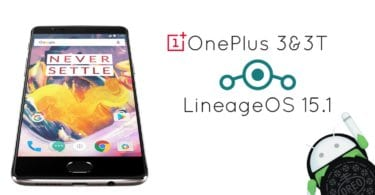 LineageOS 15.1 on OnePlus 3 and 3T