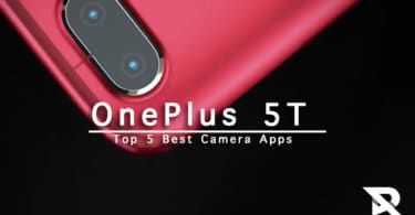 Top 5 best camera apps for OnePlus 5T With Manual Modes