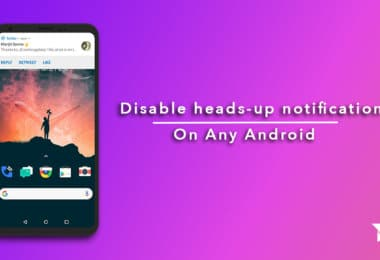 disable heads-up notifications