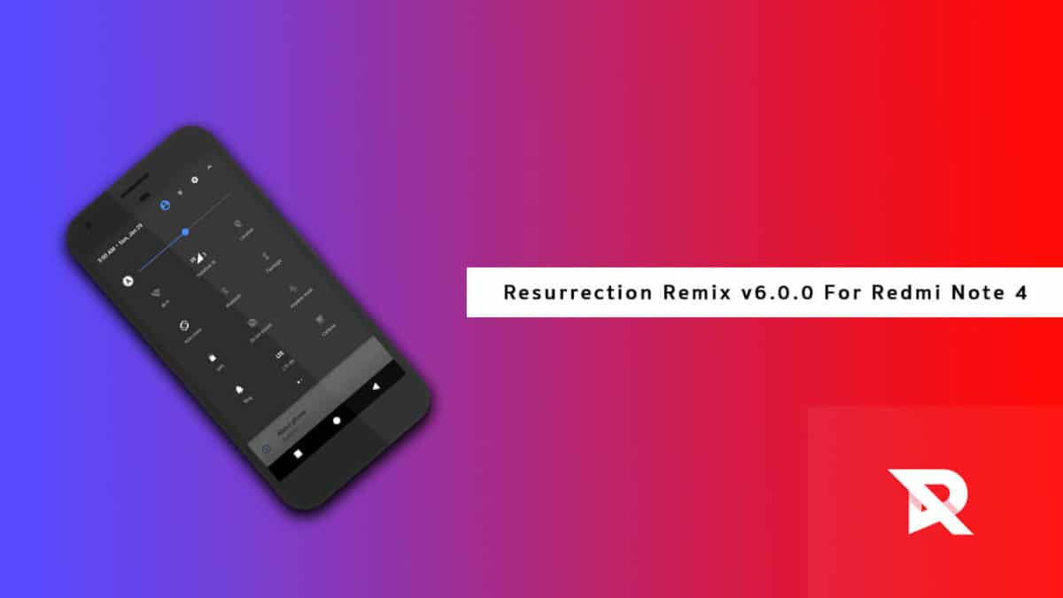 Download and Install Resurrection Remix on Redmi Note 4