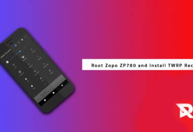 Root Zopo ZP780 and Install TWRP Recovery