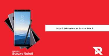 Install Substratum on Galaxy Note 8