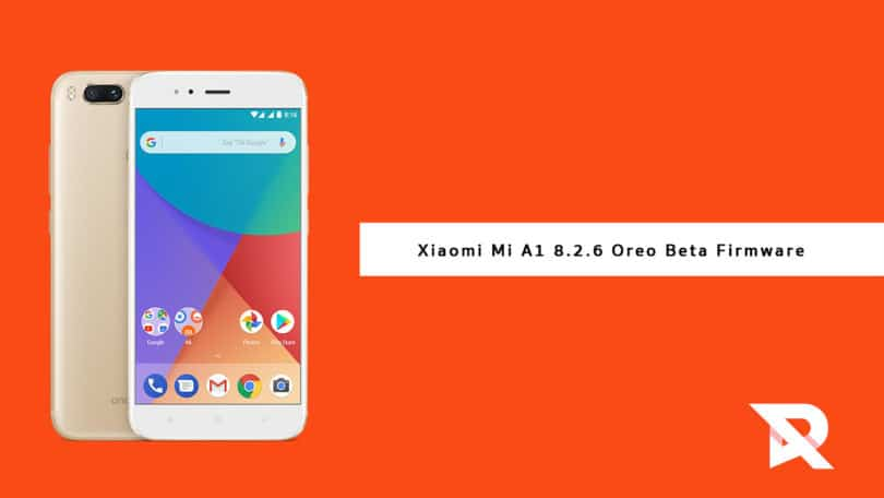 Download and Install Xiaomi Mi A1 8.2.6 Oreo Beta Firmware (OPR1.170623.026.8.2.6)