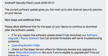 Update Moto G4 Playto NPIS26.48-38-3 March 2018 Security Patch OTA Update