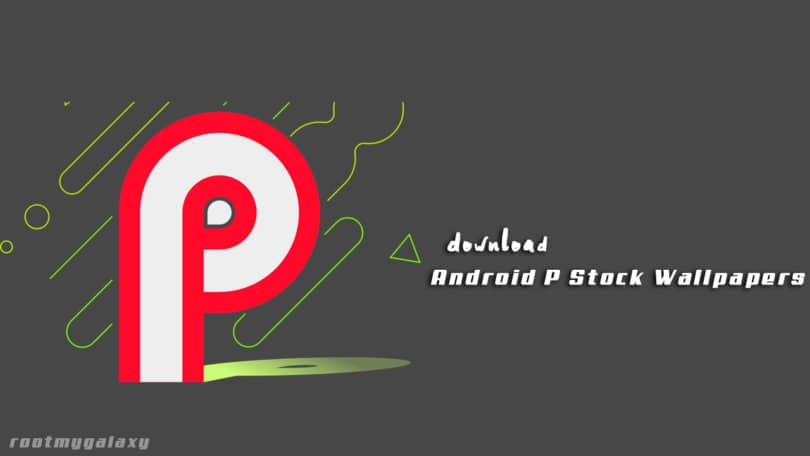 Download Android P Stock Wallpapers