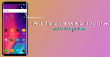 Fix Elephone Smartphones Weak Signal and Cellular Data Problems