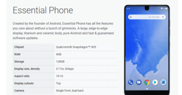 Install Android P (9.0) beta On Essential Phone (PH-1)
