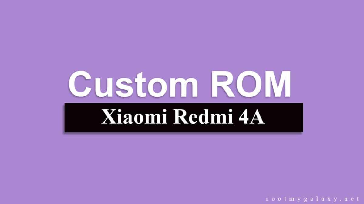 Update Xiaomi Redmi 4A To Android 8.1 Oreo Via AOSPExtended