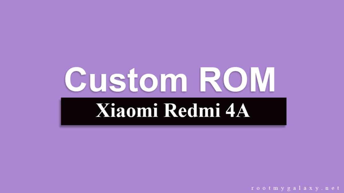 Lineage OS 15.1 On Redmi 4A