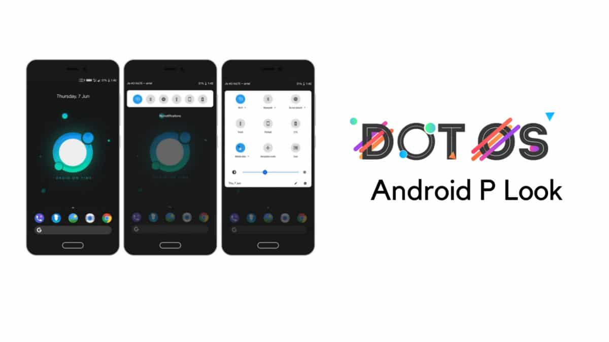 Download and Install dotOS 2.3 With Android P Look On Lenovo ZUK Z2 (Plus)