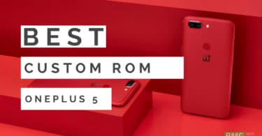 Download/Install AICP 13.1 On OnePlus 5T (Android 8.1 Oreo)