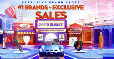 GearBest Exclusive Brands Flash Sale Save up to 50%