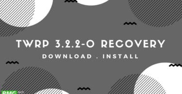 TWRP 3.2.2-0 Recovery For Android Is Now available (Download and Install)
