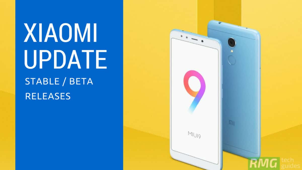 Download and Install Xiaomi Mi 5 MIUI 9.6.1.0 Global Stable ROM