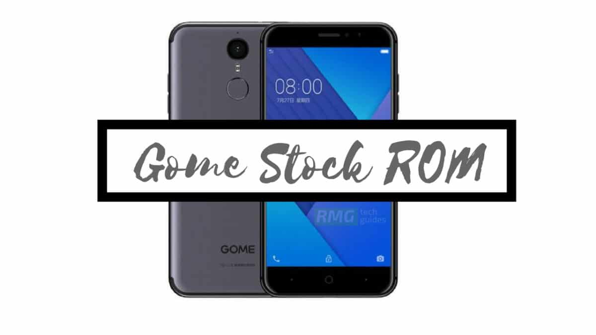 Download and Install Stock ROM On Gome M95A [Official Firmware]