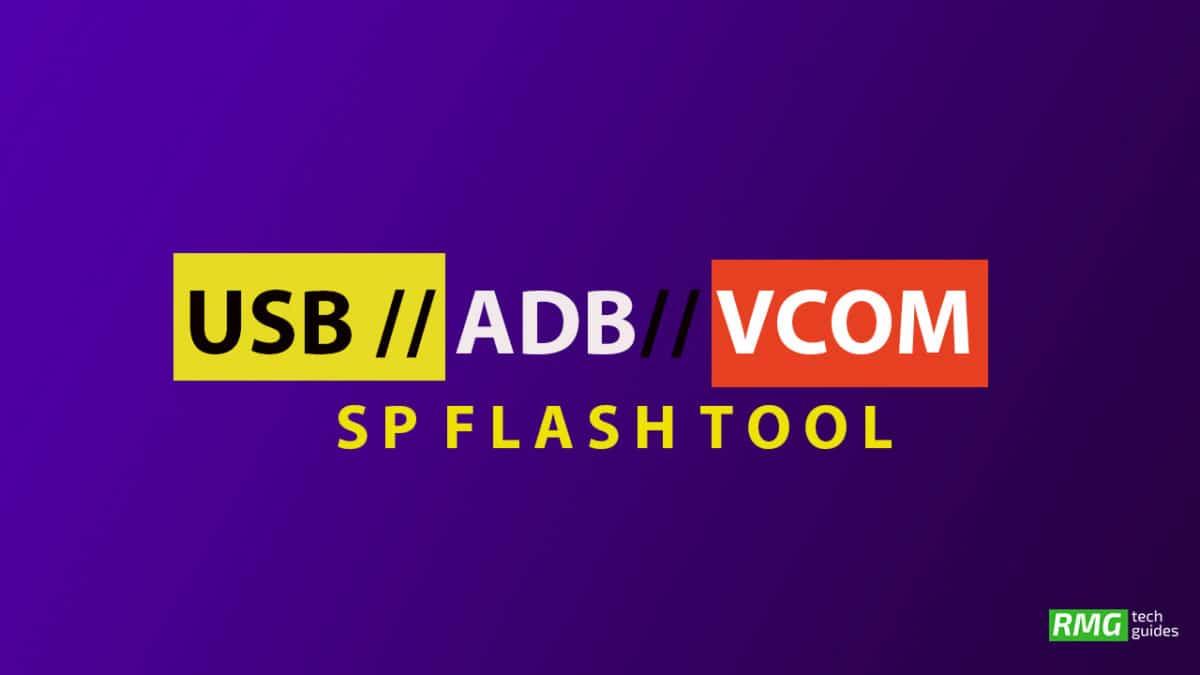 Download UMiDIGI One USB Drivers, MediaTek VCOM Drivers and SP Flash Tool