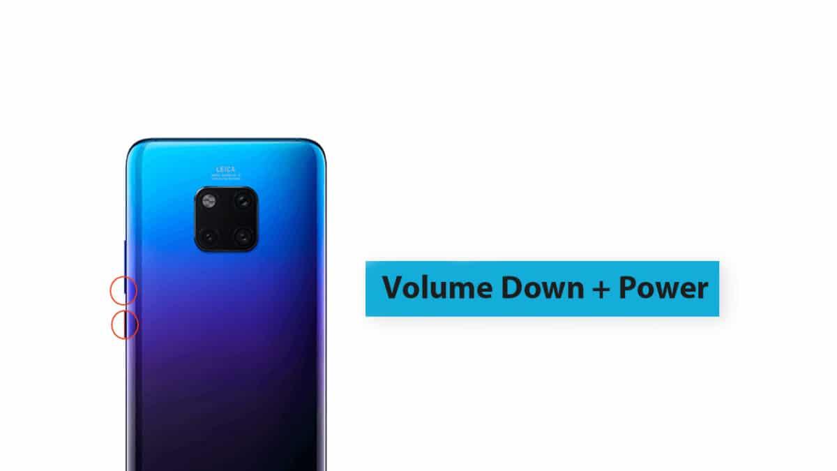 Huawei Mate 20 Pro Bootloader/Fastboot Mode
