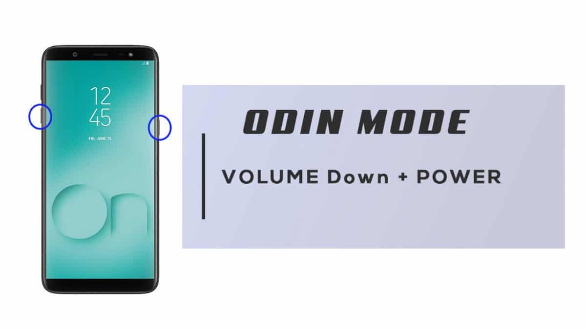 Enter Odin Mode On Samsung Galaxy On8 2018