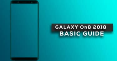 Reset Samsung Galaxy On8 2018 Network Settings
