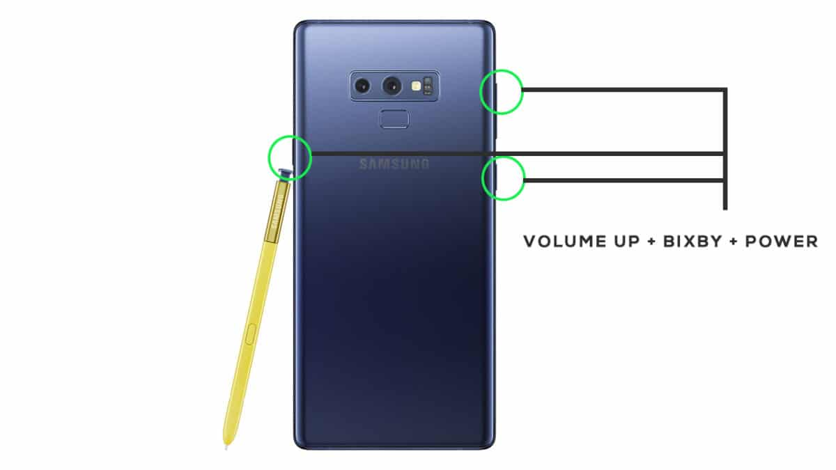 Enter Into Recovery Mode On Samsung Galaxy Note 9