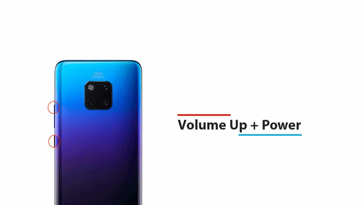 Enter Into Recovery Mode On Huawei Mate 20 Pro
