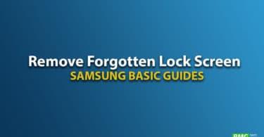 Remove Galaxy On6 Forgotten Lock Screen Pattern, Pin, Password, and Fingerprint