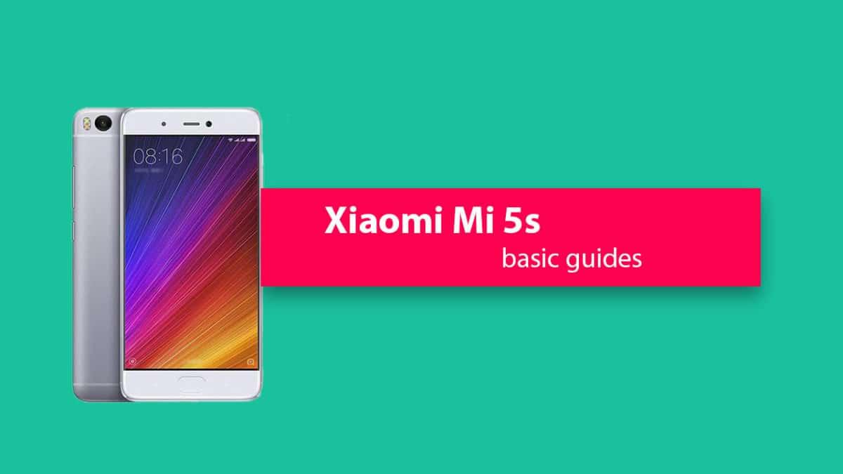 Unlock Bootloader On Xiaomi Mi 5s