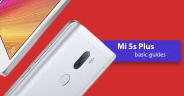 Enable Developer Option and USB Debugging On Xiaomi Mi 5s Plus