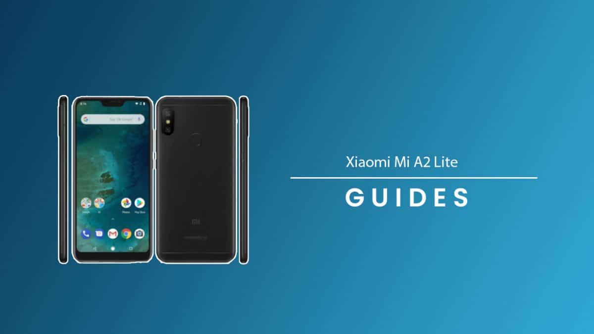 PerformHard/Factory Data Reset On Xiaomi Mi A2 Lite