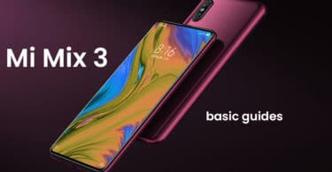 Boot into Xiaomi Mi Mix 3 Bootloader/Fastboot Mode