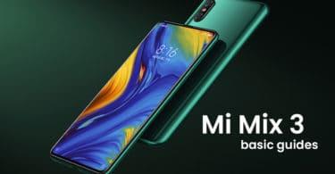 Enter Recovery Mode On Xiaomi Mi Mix 3