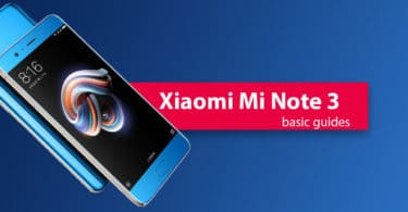 Enter Recovery Mode On Xiaomi Mi Note 3