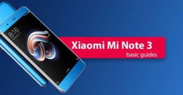 Change Xiaomi Mi Note 3 Default language(System Language)