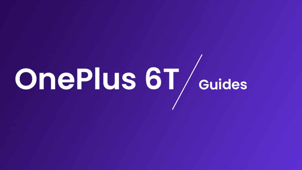 Reset OnePlus 6T Network Settings