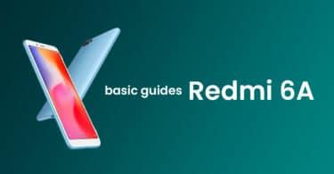 Check OTA Software Update On Xiaomi Redmi 6A