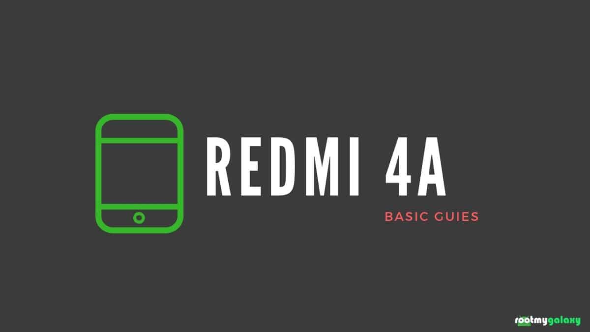 Find Xiaomi Redmi 4A IMEI Serial Number