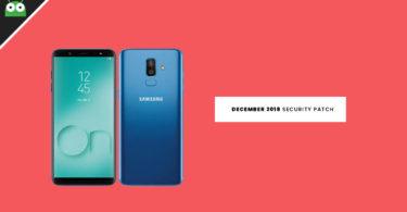Galaxy On8 2018 J810GFDDU2ARK4 / J810GFDDU2ARL2 December 2018 Security