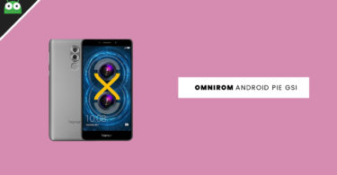 Update Huawei Honor 6X to Android 9.0 Pie With OmniROM